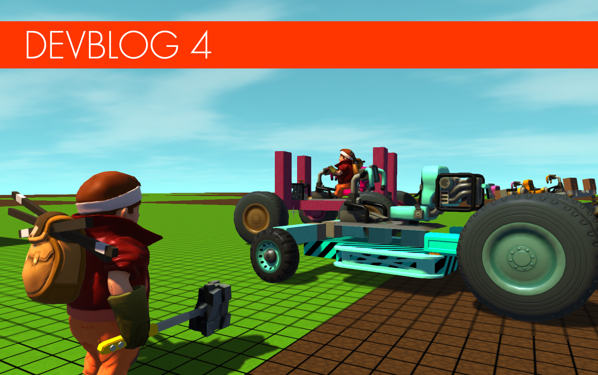 Scrap Mechanic   Read about our latest progress!